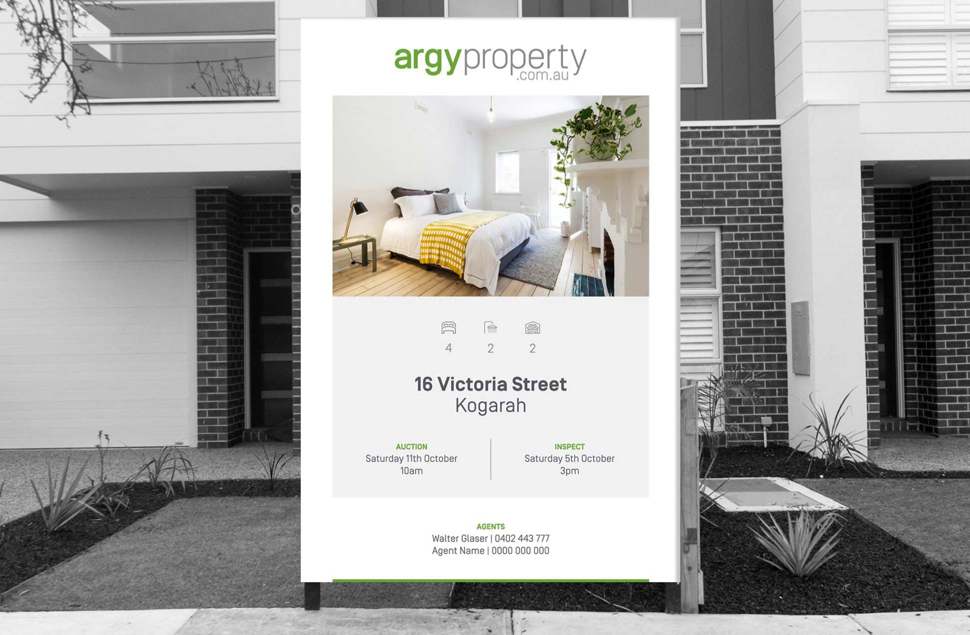 Argy Property billboard