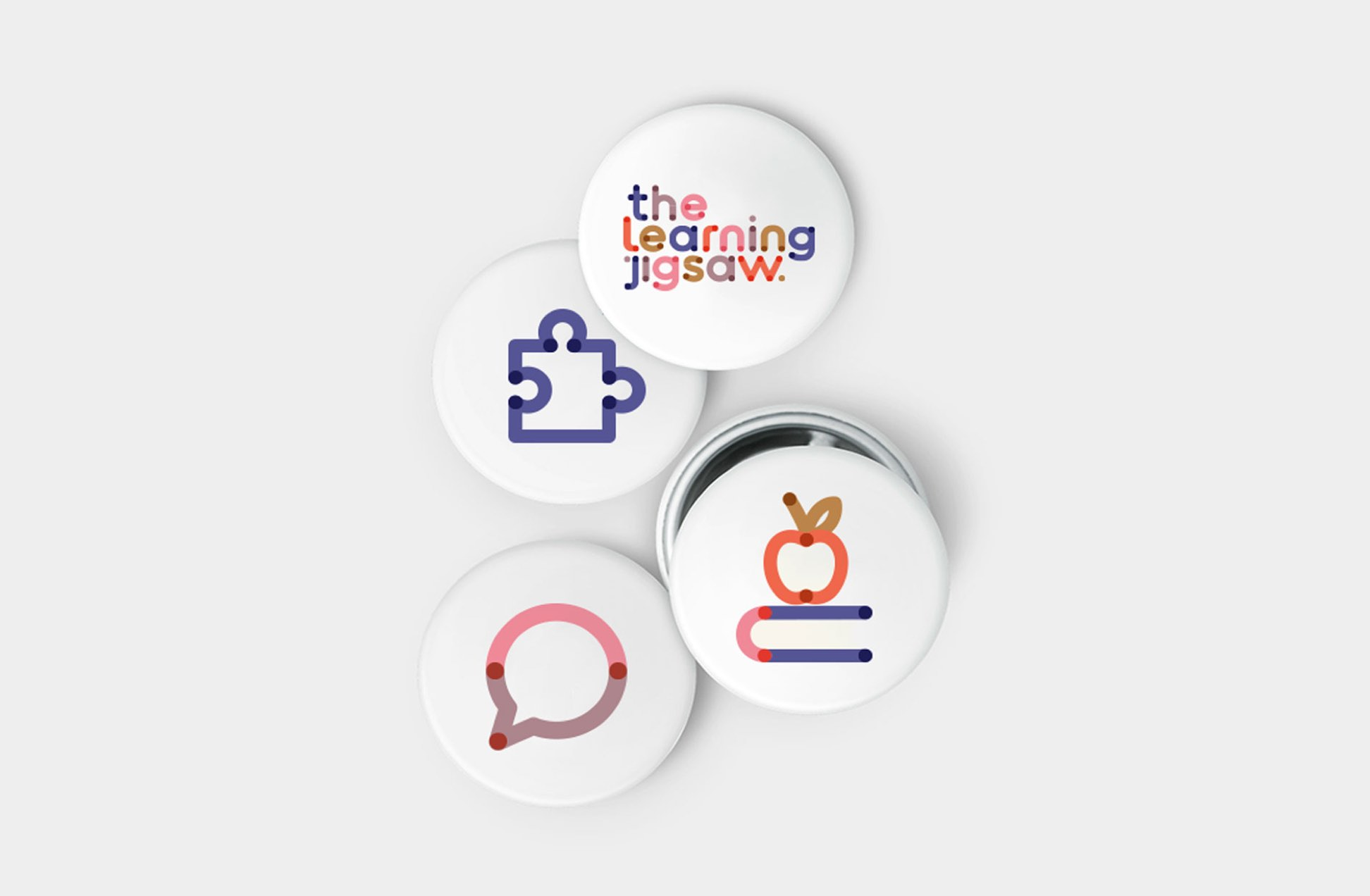 The Learning Jigsaw badges